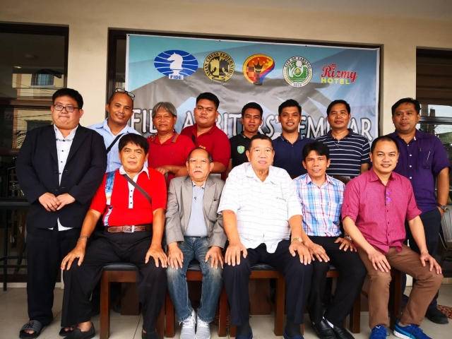 FIDE ARB Seminar in Cabuyao Philippines