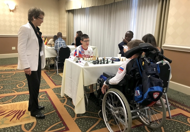 2nd FIDE World Junior Chess Championship for the Disabled 2