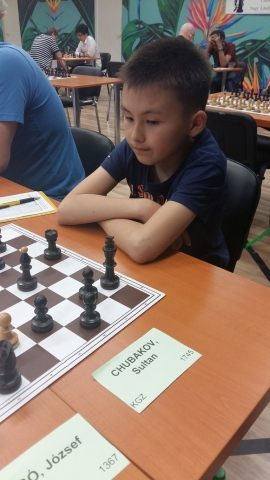 CHUBAKOV Sultan KGZ  11 years