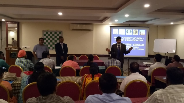 FIDE ARB Seminar in Thrissur Kerala India 2